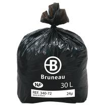 Karton 500 vuilniszakken 30 l nf bruneau for Ladeblok in karton