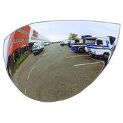 Miroirs de sécurité incassables : usage intérieur et extérieur - Optimax 180° incassable