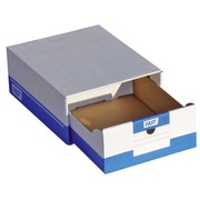 Cardboard drawer boxes Fast A4 - Set of 10