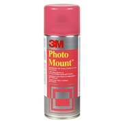 Aerosol glue Scotch display Photo Mount permanent