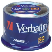 Spindle 50 CD-R 700 MB Verbatim 52x