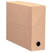 Filing box cardboard Fast back 9 cm green