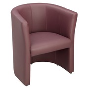 Sofa chair Premium vinyl grey