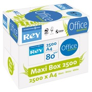 Wit A4-papier 80 g Rey Office - doos van 2500 vellen