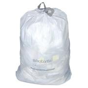 Witte vuilniszakken met stroplint Brabantia 30 L - pak van 20
