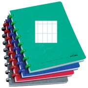 Notebook Atoma A5 144 pages checked 4x8