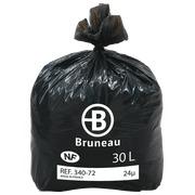 Karton 500 vuilniszakken 30 l NF Bruneau