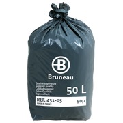 Cardboard of 200 plastic bags, superior quality < BR > 50 liters 50 microns