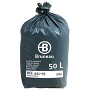Sac poubelle 50 litres qualité supérieure Bruneau - 200 sacs