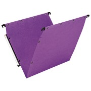 Suspension files AZV normal bottom, lilac