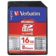 SDHC-kaart 16GB klasse 10 Verbatim