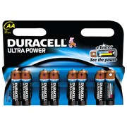 Blister met 8 batterijen AAA Duracell Ultra Power