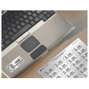 Box of 960 super strong labels Avery L 6009 4,.7 x 21,2 mm metallic grey for laser printer