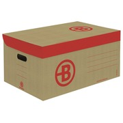 Archive boxes Bruneau H 27 x W 55 x D 36 cm brown