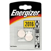 Blister of 2 batteries lithium Energizer CR2016