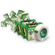 Set van 14 plakbandrollen Scotch Magic waarvan 4 gratis
