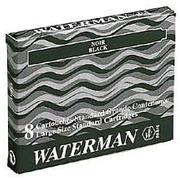 Large inktvulling voor Waterman balpennen blauw - Doos van 8