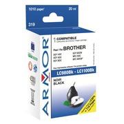 Cartridge Armor compatibel met Brother LC980 - LC1100 zwart voor inkjetprinter