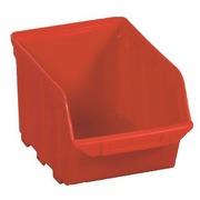 Economic storage crates Viso red - 4 liters