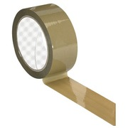 Adhesive tape polypropylene economical havana 48 mm x 100 m