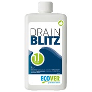 Bottle of 1 L Ecover Drain Blitz unblocker