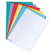 Boîte de 100 pochettes coin en polypropylène grainé 13/100 couleurs assorties Maxiburo
