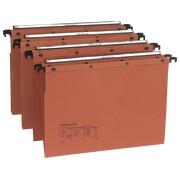 Suspension files l'oblique/az for drawers Folio 36.5 cm bottom 30 mm AZO