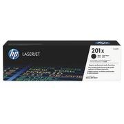 Toner zwart HP 201X hoge capaciteit voor laserprinter