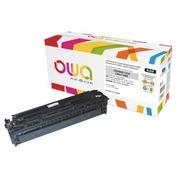 Toner Armor Owa vereinbar mit HP 125A-CC540A schwarz für Laserdrucker