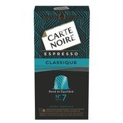 Capsules de café Carte Noire Classique n°7 - Boîte de 10