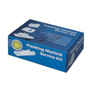 Cleaning kit for postage meter