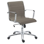 Chair Milano leather - Back H 40 cm