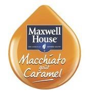 Koffie Latte macchiato caramel Maxwell House voor Tassimo - Pak van 8 capsules