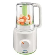 Philips Avent SCF870 - baby blender/steamer - white/green