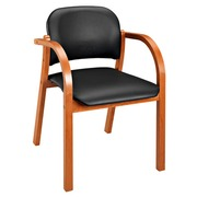Fauteuil Mely Melo simili cuir