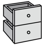 Blok 2 laden voor Maxicube Color eik