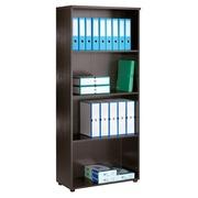 Start Plus, high shelf cabinet, black
