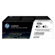 HP 410X pack 2 toners high capacity black