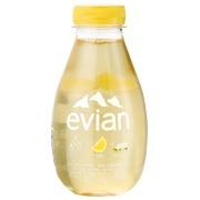 Eau Evian fruits et plantes citron et sureau 37 cl - Carton de 12 bouteilles