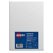Etiquettes A3 blanc brillant Avery A3L002-10 - 420 x 297 mm - Pochette de 10