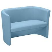 Sofa Premium trendy in fabric sky blue