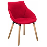 Fauteuil Anet - rood
