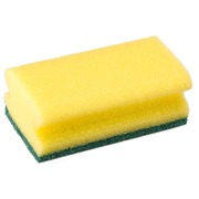Synthetic Sponge - Yellow and Green