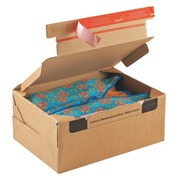 Mail box cardboard model send and return 33,6 x 24,2 x 14 cm