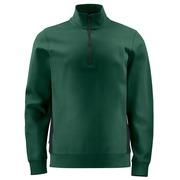 2128 Sweatshirt 1/2 zip Groen 4XL