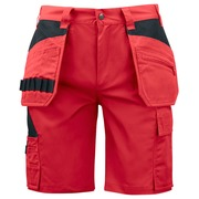 5535 Worker Shorts Red C42
