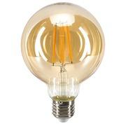 Gloeilamp LED bolvormig Vintage amberkleurig Portland - G95 E27