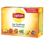 Lipton aromatisierter Tee - Schachtel von 60 Frischebeuteln