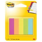 Post-it Notes Markers Capetown, ft 12,7 x 44,4 mm, blister avec 5 blocs de 100 feuilles