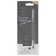 Parker stylo plume Vector, blister avec recharge, en couleurs assorties